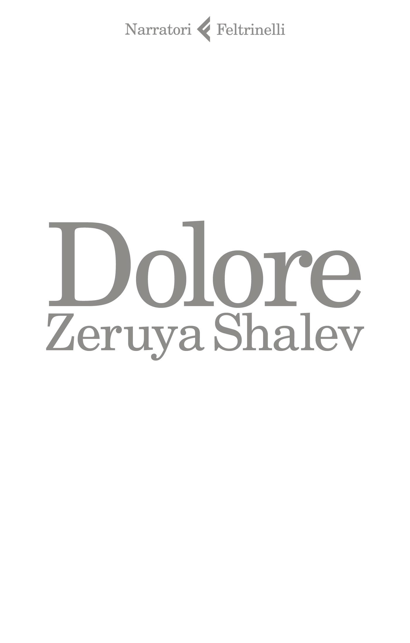 Risultati immagini per Dolore  shalev