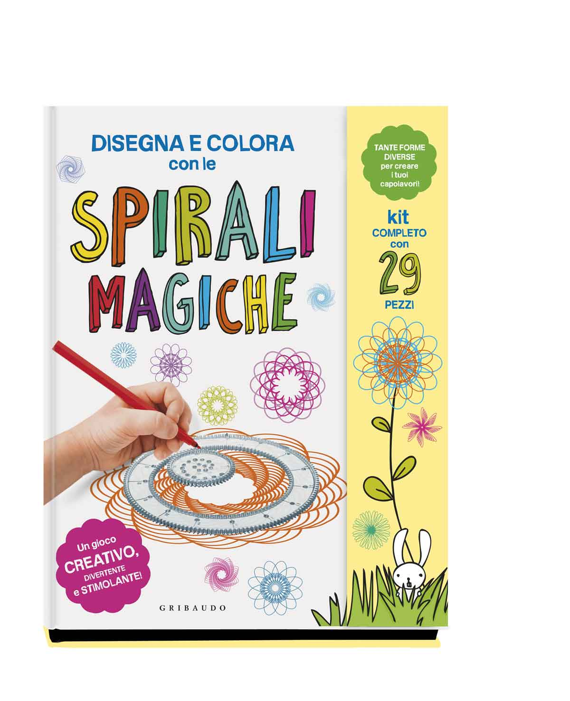 Disegna E Colora Con Le Spirali Magiche Libro Feltrinelli Editore
