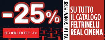 Grandi sconti -25% sui dvd fino al 30m novembre