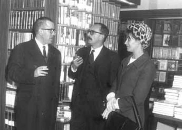 Inaugurazione della Libreria Feltrinelli di Firenze, 1963.