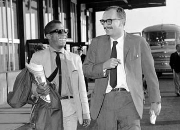 Con James Baldwin, 1964.